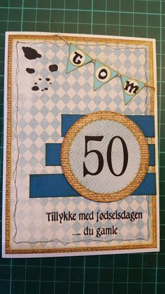 Fødselsdags kort /birthday card