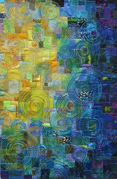 """Moonglow"" - quilt by Carol Taylor"