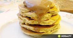 Zabpelyhes banánpalacsinta recept képpel. Hozzávalók és az elkészítés részletes leírása. A zabpelyhes banánpalacsinta elkészítési ideje: 20 perc Atkins, Tapas, Pancakes, Paleo, Breakfast, Ethnic Recipes, Food, Morning Coffee, Essen