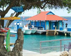 Divi Dive Resort on Bonaire.  Spent lots of time at the end of that dock a few years ago.  You can almost see my locker from here.