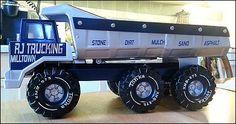 Custom Mighty RJ Trucking Tandem Axle Dump