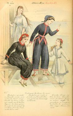 1860-1870 - La mode pendant quarante ans de 1830 à 1870 by Louis Colas