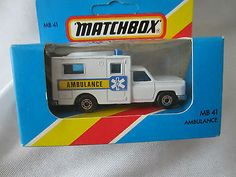 Ambulance MB 41 Matchbox New In Box A Rare Variation 1981 Lesney Made In England - http://www.matchbox-lesney.com/?p=11289