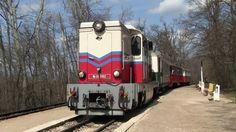 Узкоколейный тепловоз Мк-2002 в Будапешт, Венгрия, 31.03.2016 nrrow gauge locomotive Mk-2002 in Budapest, Hungary, 31.03.2016