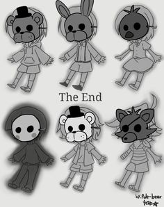Free Children of animatronics Good Ending (By: Pole Bear) Freddy S, Five Nights At Freddy's, The Marionette, Pole Bear, Scary Games, Fnaf Drawings, Deadman Wonderland, Anime Fnaf, Missing Child