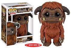 "Davey Boys Toys - Labyrinth - Ludo 6"" Pop! Vinyl Figure, $32.95…"
