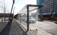 Bus Shelters, Street Gallery, Bus Station, Urban Furniture, Bus Stop, Urban Design, Landscape Architecture, City, Desks