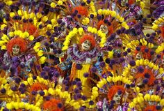 Carnival is celebrated in throughout Brazil and other Catholic countries, but the true party has always been in Rio de Janeiro. The Rio Carnaval is not only the largest Carnival, it's the benchmark for other Carnivals around the world. Over half a million visitors come to Rio for Carnival every year. (Photo: Ueslei Marcelino/Reuters)