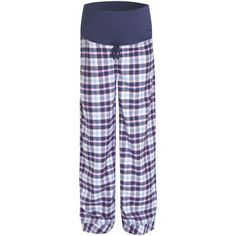 Navy Check Maternity Pyjama Bottoms, Pyjamas and Nightwear, Maternity
