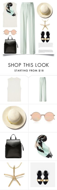 """Modern Vintage"" by pattykake ❤ liked on Polyvore featuring Monki, John Galliano, BoConcept, Linda Farrow, Loeffler Randall, Louisa Parris, modern and vintage"