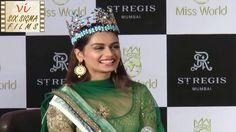 Manushi Chhillar is back in India after her historic win at Miss World Watch her first media interaction. ALSO WATCH - Manushi Chhillar's First Media. Miss World, Trending Videos, Interview, Films, Movies, Cinema, Movie, Film, Movie Quotes