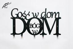 Wieszak na ubrania Gość w dom Bóg w dom Design, Home Decor, Decoration Home, Room Decor, Home Interior Design, Home Decoration, Interior Design