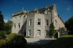 South and east side of Tulloch Castle, Scotland.