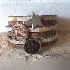 Bracelet cuir 2 chunks 04