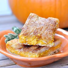 This article may contain affiliate links which support this site at no cost to you.Skip the pumpkin pie this year and make these easy pumpkin cheesecake bars with just a few ingredients instead! There is a massive debate in my family every year about Thanksgiving – to pumpkin[…]