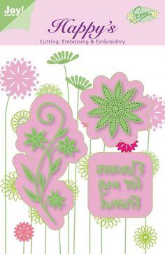 Joy!Crafts Borduurmal 6002/1101 Flowers for my Fri
