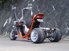 Scooter Bike, Moto Bike, Bicycle Engine Kit, Electric Cargo Bike, Cool New Gadgets, Custom Trikes, Honda Ruckus, Drift Trike, Metal Projects