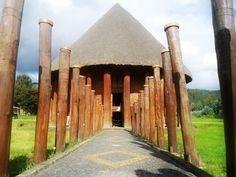 El majestuoso templo del Sol - Museo arqueológico - Sogamoso - Boyacá - Colombia