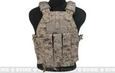 TMC Tactical 94K-MP7 Plate Carrier - AOR1, Tactical Gear/Apparel, Body Armor & Vests, Marpat / Digital Camo - Evike.com Airsoft Superstore