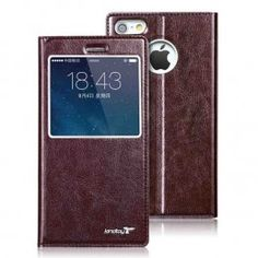 iPhone 6 HD Windows luxurious Leather Protective Sleeve ::INFPASS