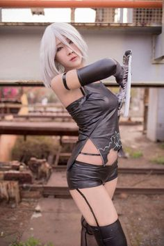 Cosplayer: Ashley TW Cosplayer. Country: Taiwan. Cosplay: A2 from Nier Automata.