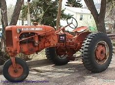 1957 Allis Chalmers CA - A few more rare parts than mine, like the single front wheel!