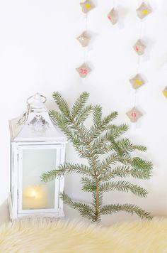Scandinavian Nordic Interior Winter Decoration  Advent Calendar