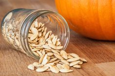 How to Bake Pumpkin Seeds. Very few fruits are as versatile as the pumpkin. You can make pumpkin pie, pumpkin soup or pumpkin bread, and you can even bake the seeds and eat them as a snack. Find out how to best bake pumpkin seeds. Pumpkin Soup, Baked Pumpkin, Pumpkin Bread, Pumpkin Recipes, Fall Recipes, Holiday Recipes, Holiday Ideas, Holiday Time, Thanksgiving Recipes