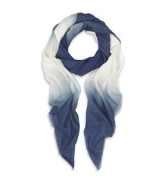 Ombre scarf.