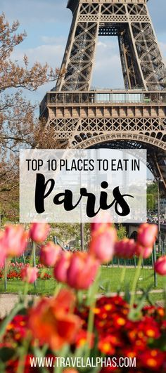 France is the land of everything that's delicious: delicate macarons, Bordeaux wines, camembert cheese, fois gras, and the list goes on... When visiting the French capital (and one of the top food capitals of the world), you're in for the culinary experience of a lifetime --- but only if you know where to go! Here are the top 10 places to eat in Paris, France!
