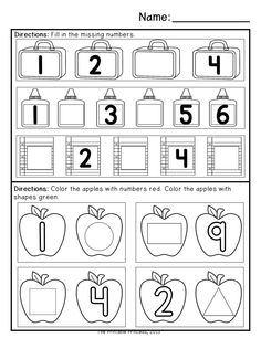 September morning work for Kindergarten. 20 pages of reading, 20 pages of math. Repetitive activities so students become familiar with directions so they can work independently.