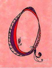 Featured Art - Q Monogram by Joyce Auteri