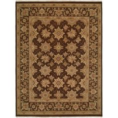 K2 Floor Style - Sierra Brown Hand Made Wool Area Rug