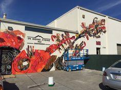 Ciro Schu at the Annapolis Design District, 2015. Urban Walls Brazil