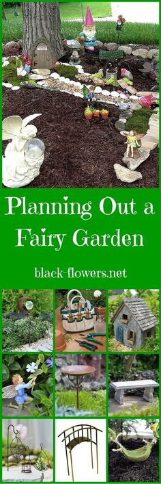 Planning Out a Fairy Garden