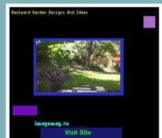 Backyard Garden Designs And Ideas 184821 - The Best Image Search