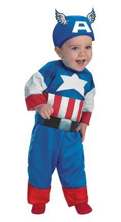 #Captain #America #Baby #Costume - #Superhero #Costumes