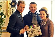 A Doctor a day/Matt Smith and Claire Foy on the set of The Crown, season 2