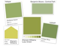 Green Paint Colors For Home Interior Color Palate Backsplash Tile Coordinating Chips Design Files