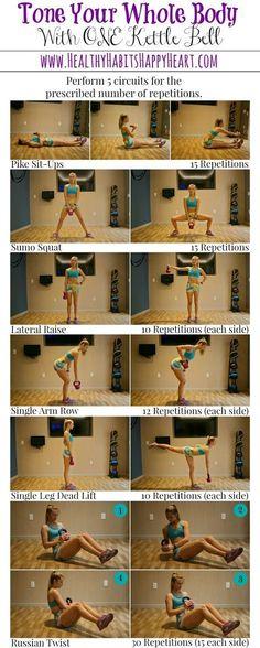 Kettle Bell Workout - Full Body