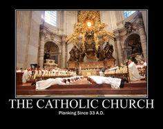 Catholic humor ...Rotfl this is so great