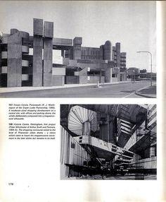 Megastructure - Reyner Banham, 1976 - Tricorn, Portsmouth & Victoria Centre, Nottingham