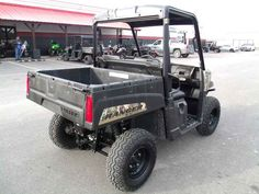 Used 2015 Polaris Ranger EV Polaris Pursuit Camo ATVs For Sale in Texas. 2015 Polaris Ranger EV Polaris Pursuit Camo, SUPER LOW HOURS AND READY TO SNEAK UP ON THE BIG ONE THIS YEAR! 2015 Polaris® Ranger® EV Polaris Pursuit® Camo Hardest Working Features Strong 30 HP Motor The RANGER EV features a strong 30 HP/48V AC electric motor, allowing for clean and quiet operation. Alternating Current (AC) is more efficient and extends range. Electric Advantage A quieter machine for operating inside…