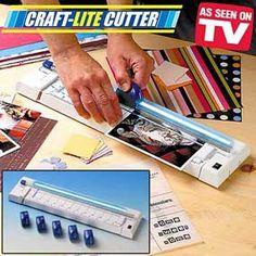 Craft Light Paper Cutter  only $12.95