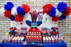 Xavi's The Amazing Spiderman Dessert table! | Spectacular sw… | Flickr