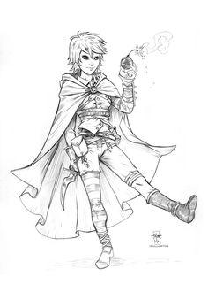 Image result for female monk sketch