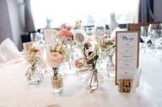 Vervliest und zugenäht: Menükarten und Tischplan {Hochzeits-DIY} Menu and seating Chart diy craftpaper rustic wedding