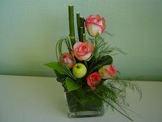 idées composition florale | 120) COMPOSITION FLORALE POUR DRESSER VOTRE TABLE