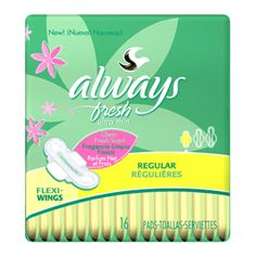 Always Thin Ultra Maxi Pads Fresh Regular with Wings - 16 / Pack, 12 Packs Always Thin Ultra Maxi Pads help you feel clean and fresh while you are on your period. , Always Thin , Pads & Hygiene , Procter & Gamble Consumer. Always Maxi Pads, Always Pads, Period Kit, Period Pads, Fresh And Clean, Clean Clean, Wings, How Are You Feeling, Beauty Tips