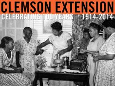 Dorchester County: Home agent giving demonstration on making electric lamp, June 1949. Courtesy of Clemson University Special Collections. #ClemsonExt100